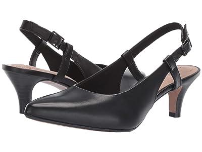 Clarks Linvale Loop (Black Leather) Women