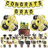 Decoración de la ceremonia de graduación, conjunto de decoración temática de la temporada de graduación de Nesloonp, decoración de la fiesta de graduación, decoración de la bandera del globo