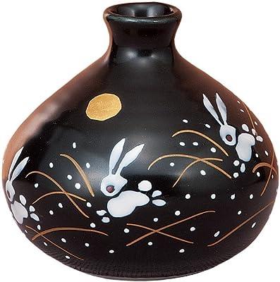 マルヨネ 九谷焼 花器・花瓶 3号一輪生・はねうさぎ K4-1246