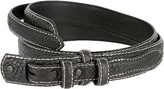 Western Ranger Genuine Leather Bison Belt Strap for Men