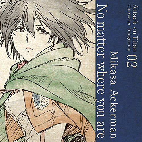 Tv Anime(Attack On Titan)Character Image Song Series Vol.02 Mikasa Acker O.S.T.