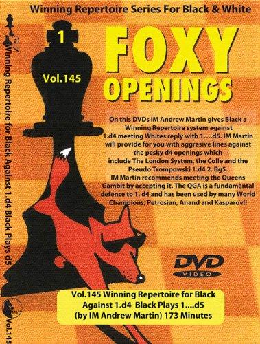 Foxy Vol.145 Winning Repertoire for Black Against 1.d4