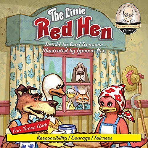 The Little Red Hen audiobook cover art