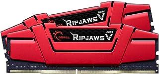 G.Skill Ripjaws V F4-3000C16D-16GVRB módulo de - Memoria (16 GB, 2 x 8 GB, DDR4, 3000 MHz, 288-pin DIMM)