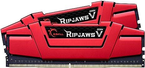 G.Skill Ripjaws V Gaming Serisi CL16 (16-18-18-38) Alüminyum Soğutuculu 1.35V Dual Bellek Kiti, 2x8GB, 3000 MHz, Kırmızı