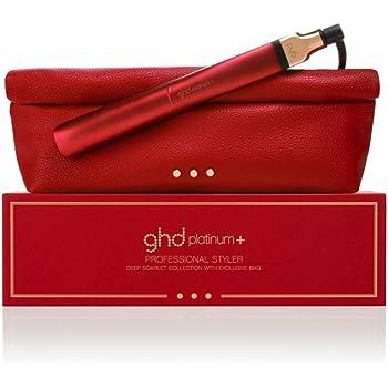 ghd Platinum+ Deep Scarlet - Plancha de pelo profesional con tecnología predictiva ultra-zone, color rojo: Amazon.es: Salud y cuidado personal