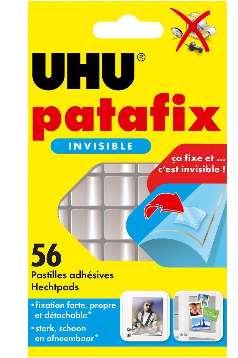 UHU Patafix Fixierpaste, 20 Tabletten, unsichtbar