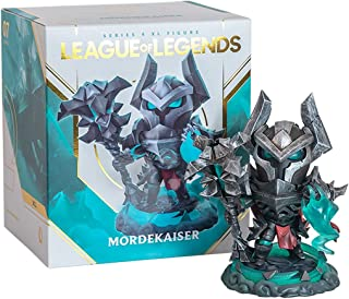 Voor League of Legends Figure Game League of Legends Standbeeld The Iron Revenant Mordekaiser Cool LED Lichtgevend Figuur ...