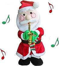 QIUYEJUO Twerking Santa Claus Figure Singing Dancing Musical Santa Electric Toy Ornaments, for Kids