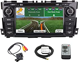for 2013 2014 2015 2016 Nissan Altima Navigation Double Din in Dash Car CD DVD Player GPS Stereo Radio 8 Inch Touchscreen Display w/RDS SD USB iPod AV BT AUX in+ Free Backup Camera + Free GPS Map