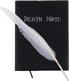 S-TROUBLE New Death Note Cosplay Cuaderno y Pluma Pluma Libro Animación Arte Escritura Diario
