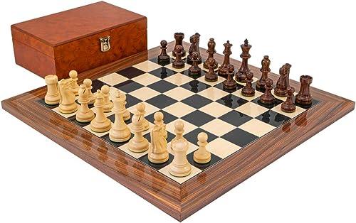 marcas de moda The Regency Chess Company Ltd Suprema Palisandro Ajedrez Ajedrez Ajedrez Juego con Madera auténtica Madera Funda  precio al por mayor