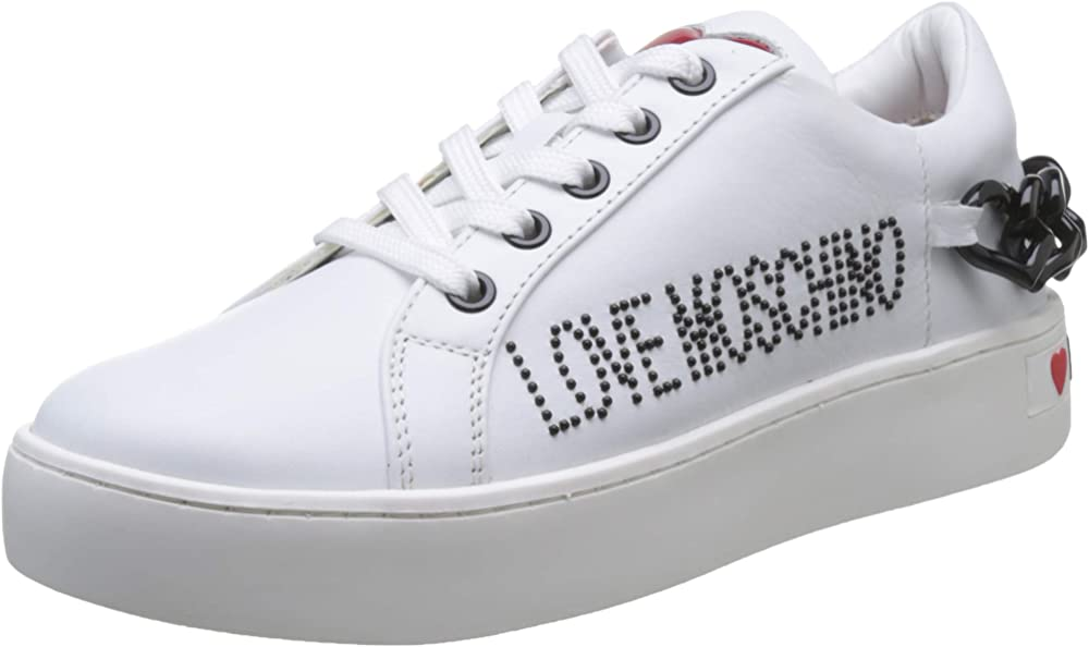 Love moschino sneakers donna in pelle JA15053G1A