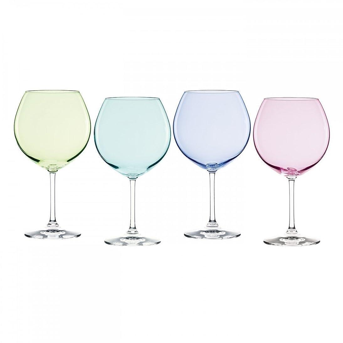 酸度宣言する微視的Marquis by Waterford Vintage Ombre Aromatic Wine Set (Set of 4), Multicolor [並行輸入品]
