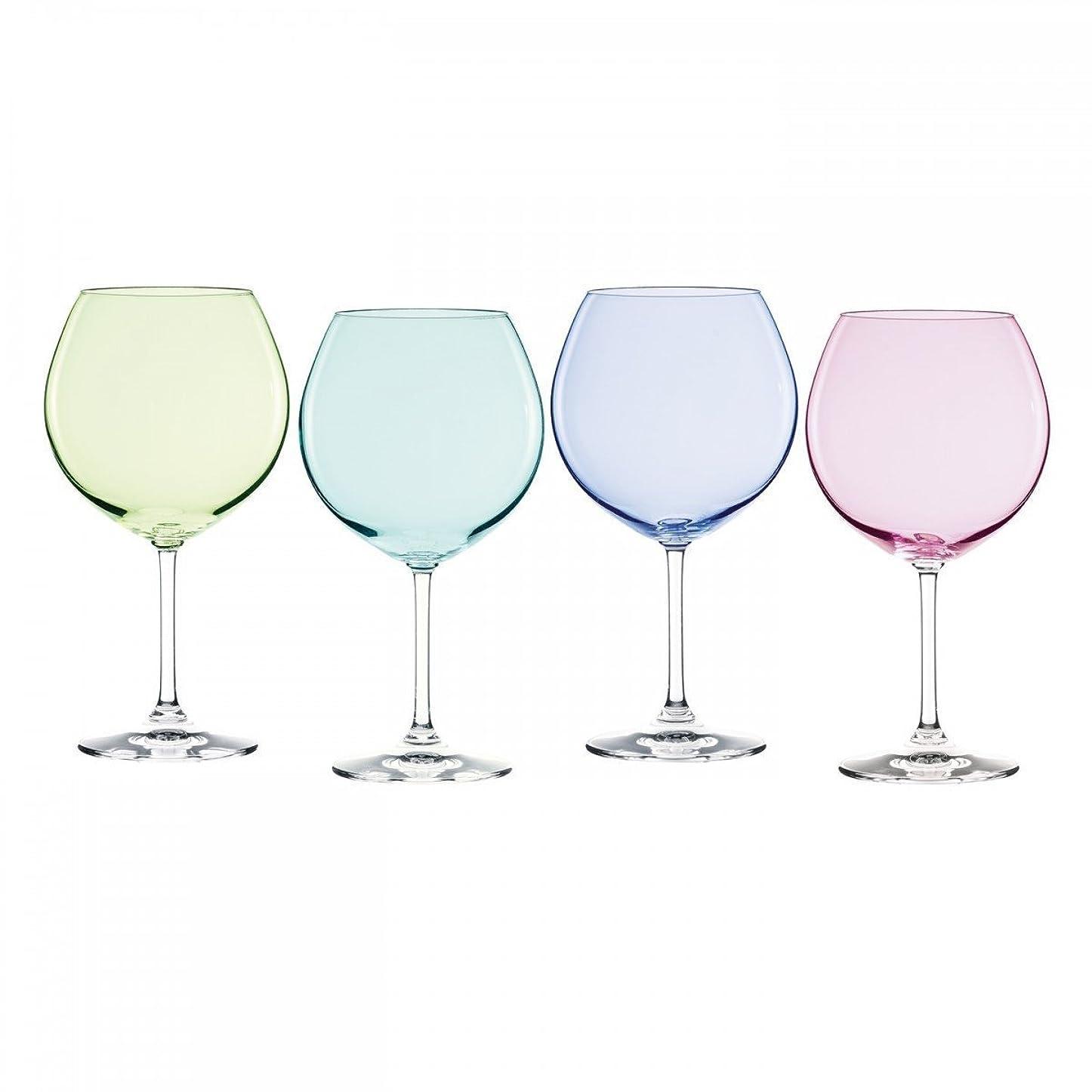 有罪応用店主Marquis by Waterford Vintage Ombre Aromatic Wine Set (Set of 4), Multicolor [並行輸入品]