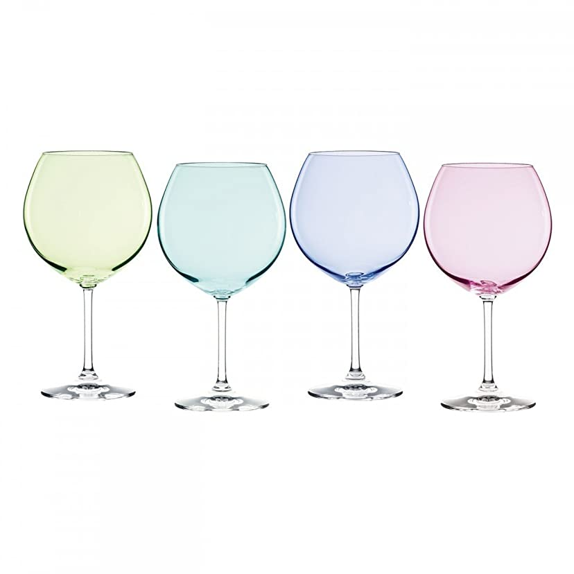 仕出します作り上げるフォーカスMarquis by Waterford Vintage Ombre Aromatic Wine Set (Set of 4), Multicolor [並行輸入品]