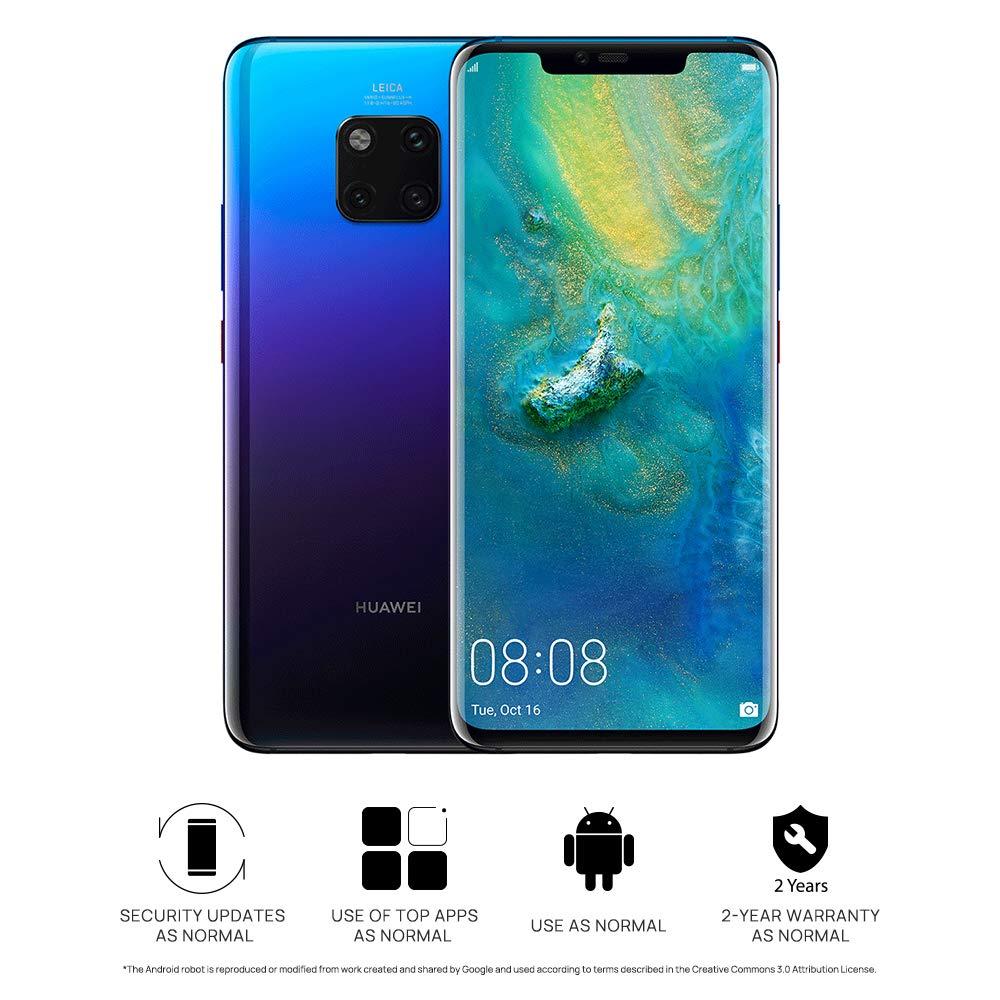 Huawei Mate20 Pro Smartphone SIM simple de 128 GB / 6 GB: Amazon ...
