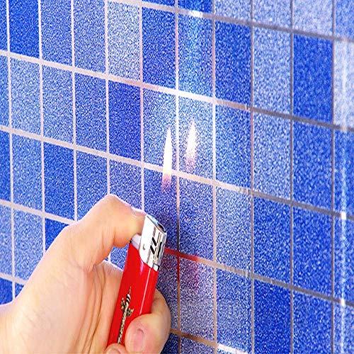 Pegatinas Autoadhesivas Impermeables Para Baño, Papel Tapiz De Azulejos De Mosaico, Pegatinas De Pared Para Decoración De Baño De Cocina