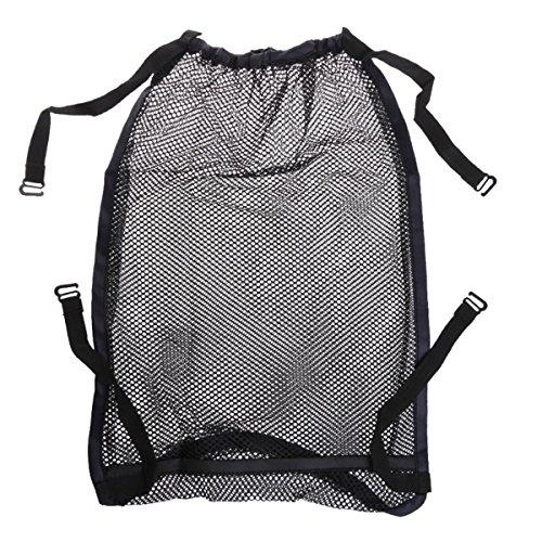 ARHSSZY Multi-Function Baby Stroller Accessory Portable Mesh Tuck Net Stroller String Bag Infant Stroller Organizer Bottle Diaper Bag Hanging Storage Universal Size