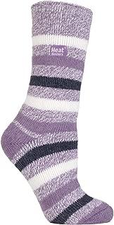 Heat Holders Women's Thermal Stripe Socks Size 5-9 US