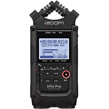 Zoom Digital Multitrack Recorder - 2020 Version (H4n Pro All Black)