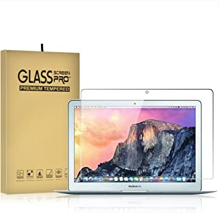 DIEBI Temper Glass Screen Protector for MacBook Air 11 Inch A1370 A1465 9H Hardness Crystal Clear Scratch Resistant Bubble Free Easy Installation Screen Film