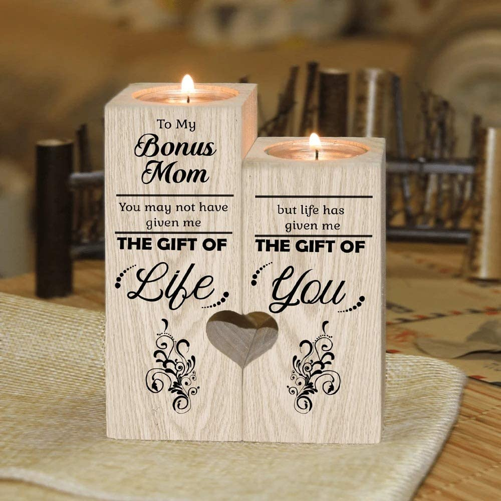 Bonus Excellence Mom - Life Has Given Me of You Gift Holder Candle Bargain The