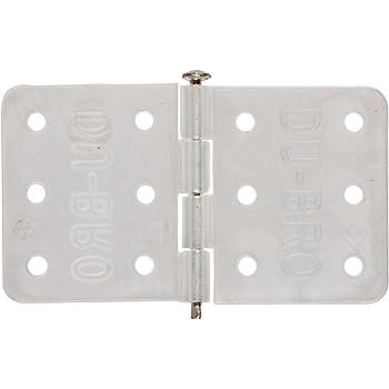 Du-Bro Nylon Hinges w//Hinge Pin Locked in Place 6pcs
