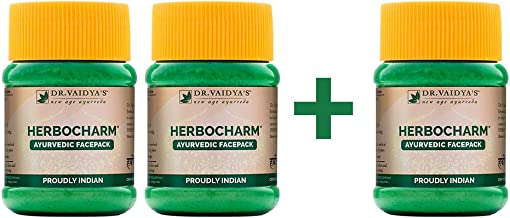 Dr. Vaidya's New Age Ayurveda   Herbocharm   Face Pack Powder   Gift for Her   Helps to treat skin ailments and have clear...