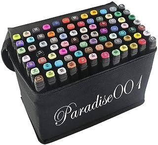 Marker Pen, 80 colores Graffiti Pen Grasa marca de colores Conjunto de marcadores de colores, resaltador de punta doble Rotuladores Manga Sketch Pen para niños Sketch Marker Set