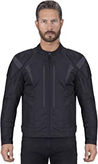 Viking Cycle Odin Textile Cordura 600d Motorcycle Jacket – Biker Riding Removable CE Armor,Reflective,and Waterproof