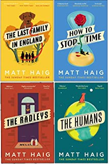 Matt Haig 4 Books Collection Set (The Last Family in England, How to Stop Time, The Radleys, The Humans)
