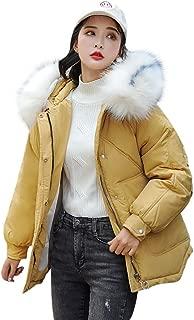 Women Puffer Coats Winter HAALIFE◕‿ Winter Warm Down Cotton Coat Fashion Plus-Size Jacket with Faux Fur Hood