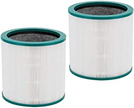 IN VACUUM 2 Pack Replacement Air Filters for Dyson Tp02 Filter Replacements Dyson Tp03 Air Filter