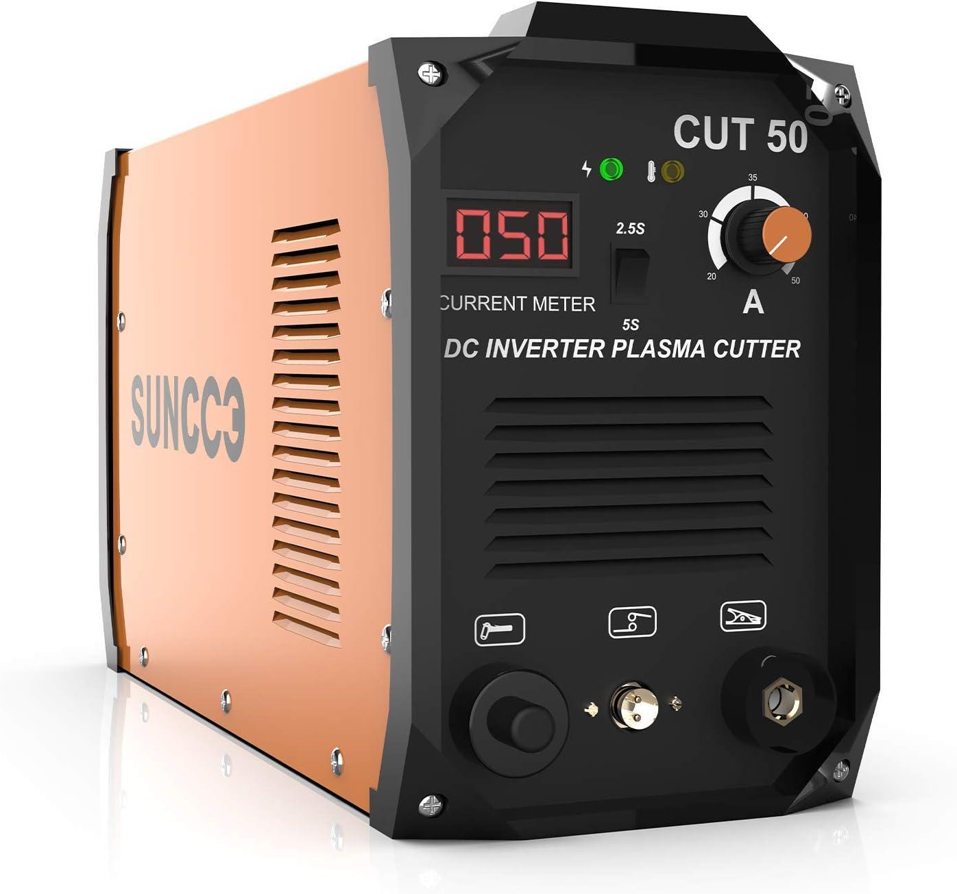 SUNCOO CUT50 Plasma Cutter – Best for Power-Efficiency