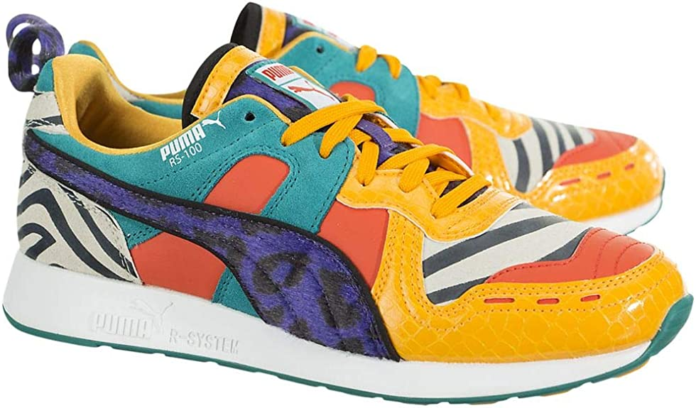 PUMA Kids Boys Rs-100 Animal Lace Up Sneakers Shoes Casual - Multi