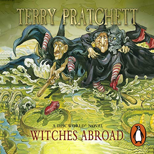 Couverture de Witches Abroad