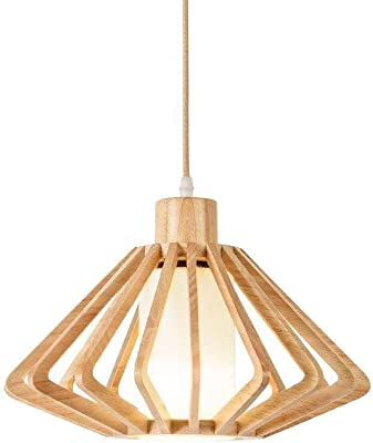 Lamp Estilo japonés de Madera de Gaza lámpara de Madera sólida ...