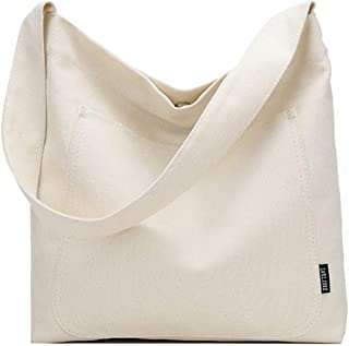 COAFIT Women's Tote Fashion Pure Color Tote Bag Shoulder Bag for Shopping