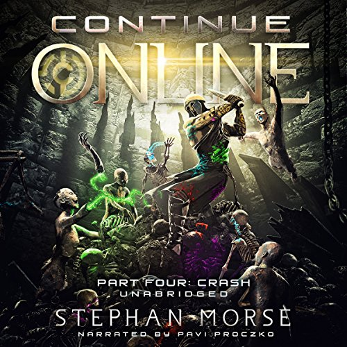 Continue Online Part Four: Crash audiobook cover art