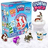 Be Amazing! Toys Snow Pets – Series 1 A Snowy Adventure - Surprise Snow Pals for Kids - Collectible Animal Figurines for Boys and Girls - Fun Snow Toys for Children - Cute Pencil Toppers - Mystery to