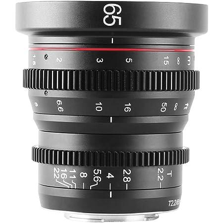 Meke 35mm T2 2 Mini Fixed Prime Manual Focus Wide Angle Kamera
