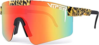 Pit Viper Sunglasses,Outdoor Windproof Sports Eyewear UV400 Polarized Sunglasses for Women and Men (C18)