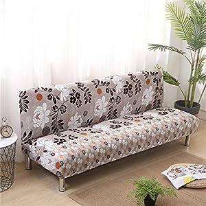 Fancylande - Funda de protección para sofá, extensible y gruesa, para sofá de 3plazas, cobertura trasera, protección para Clic Clac, decoración para casa, dormitorio, salón 160–190cm