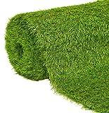 JARDINLIFE Rollo 2x10m Altura 35mm césped artificial premium | CALIFORNIA 23.100 puntadas | Máximo realismo, alta densidad, ideal para exteriores, piscinas, terrazas, jardín, mascotas, e interiores