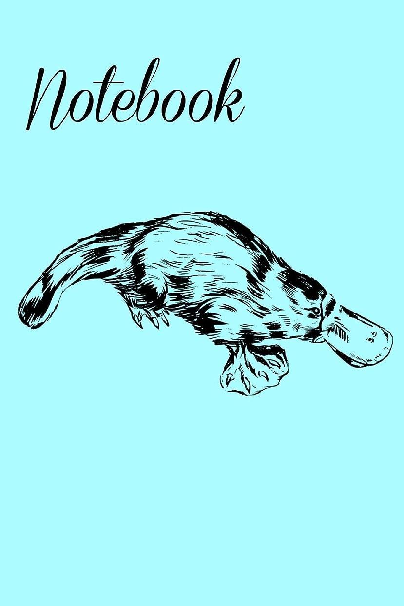 黒百やりすぎNotebook: Cute Platypus Homework Book Notepad Notebook Composition and Journal Gratitude Diary Gift