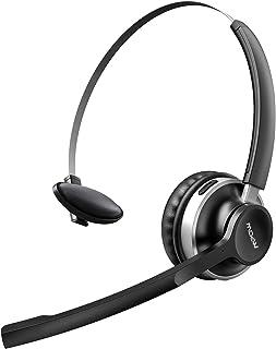 Auriculares Bluetooth con Micrófono Dual, Mpow-232A Auriculares Inalámbricos con Cancelación de Ruido ,para Skype/VoIP/PC/...