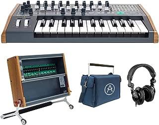 Arturia MiniBrute 2 Monophonic Analog Synthesizer with Arturia RackBrute 6U Eurorack Case, RackBrute Travel Bag & HPC-A30 Headphone Bundle