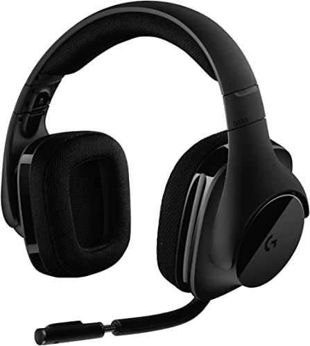 Logitech G533 Casque Gamer Sans Fil, Son Surround 7.1 DTS Headphone:X, Transducteurs Pro-G 40 mm, Micro Anti-Parasite...