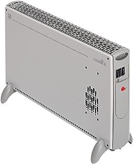 Vortice Caldore R Plata 2000W Radiador/ventilador - Calefactor (Radiador/ventilador, Piso, Plata, 2000 W, 2000 W, 685 mm)